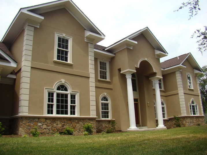 front-stucco